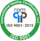 International Quality Certification, LLC. ISO 9001. ISO 0991:2015